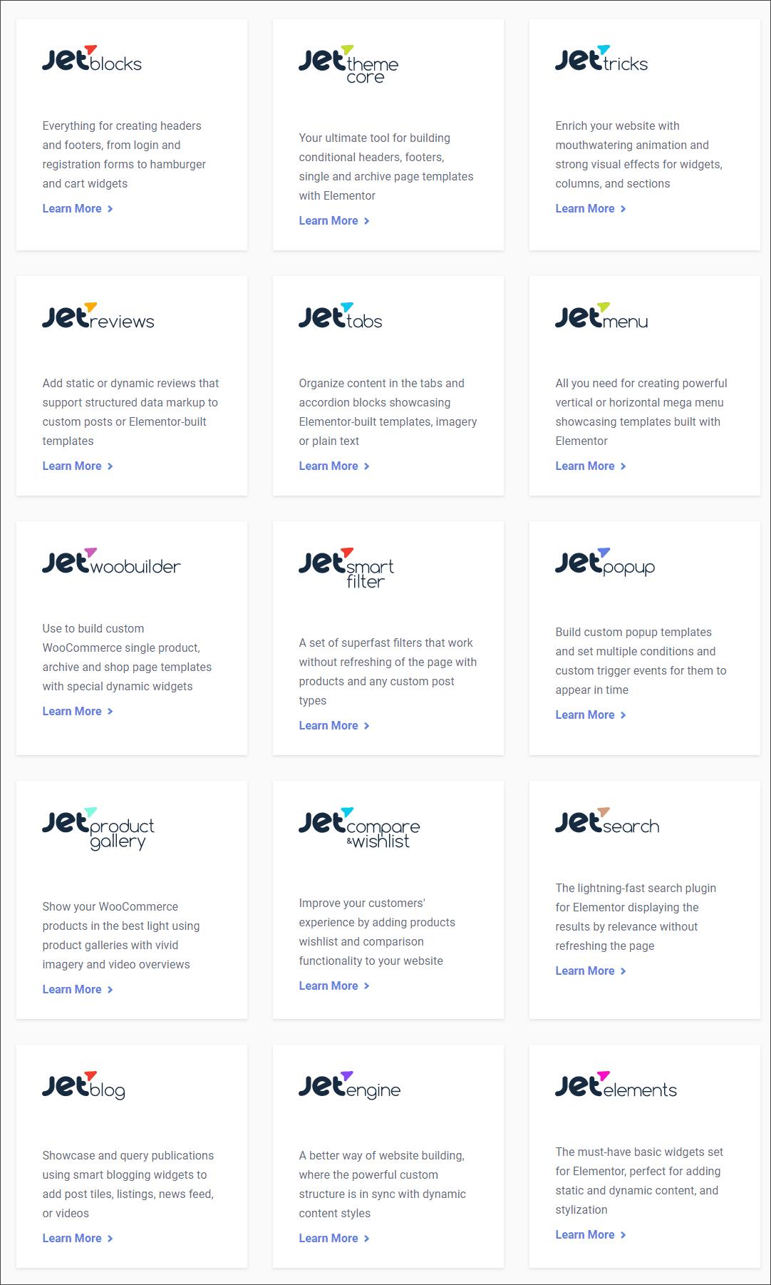 crocoblock plugin list