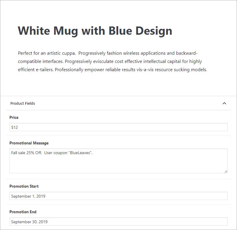 mug on sale in September