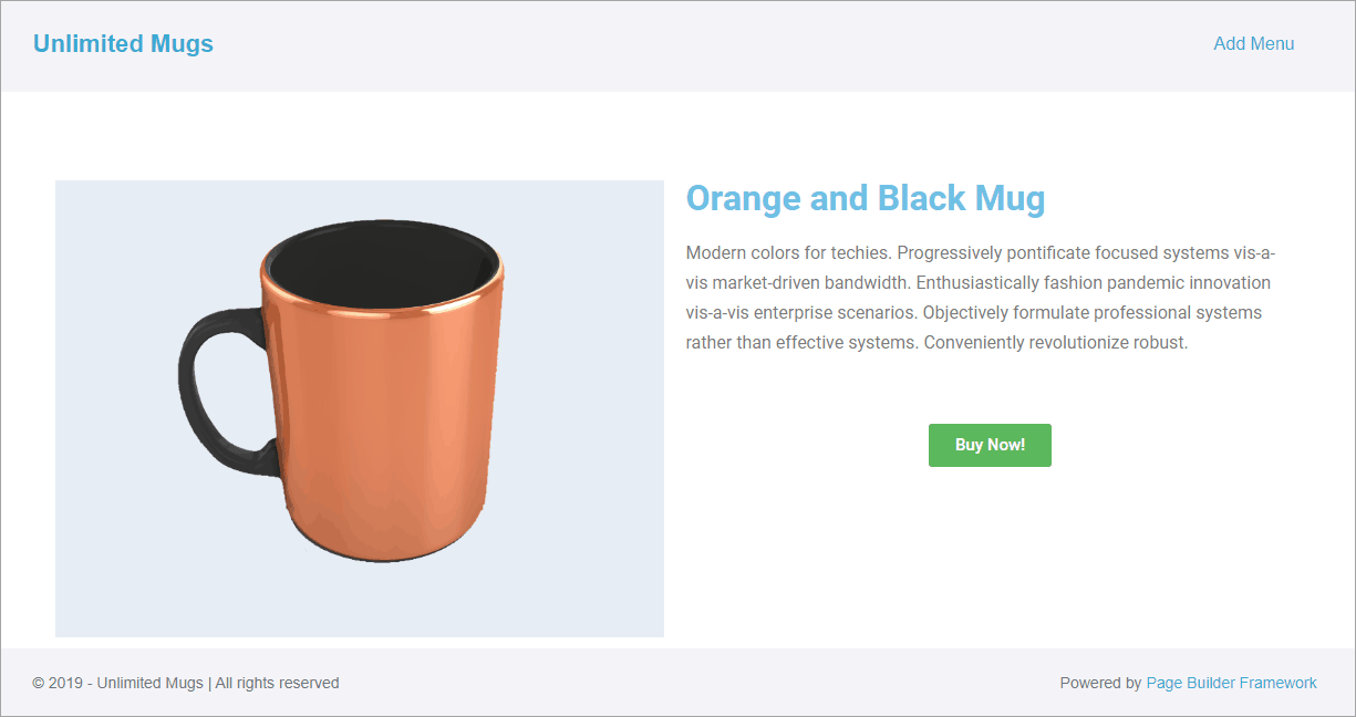 product with no message shows correctly
