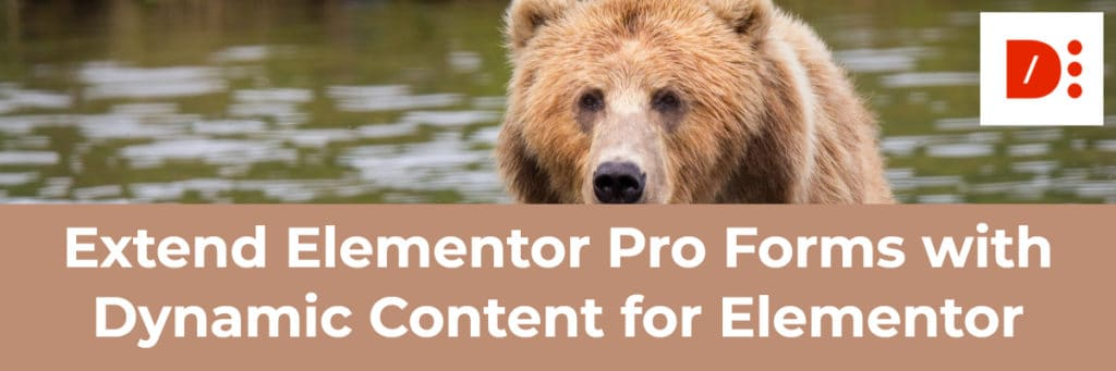 extend elementor pro forms with dynamic content for elementor