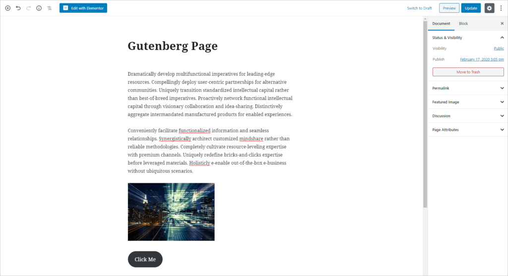 Page In Gutenberg Editor Styles Not Applied