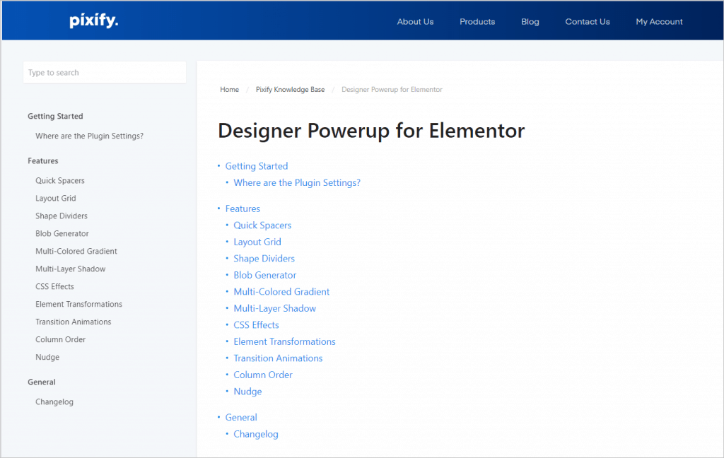 Designer Powerup Documentation