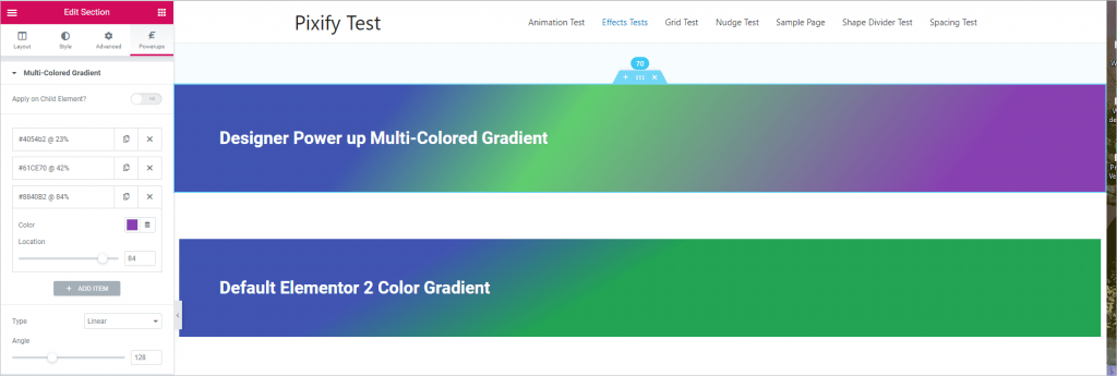 Designer Powerup Multi Gradient