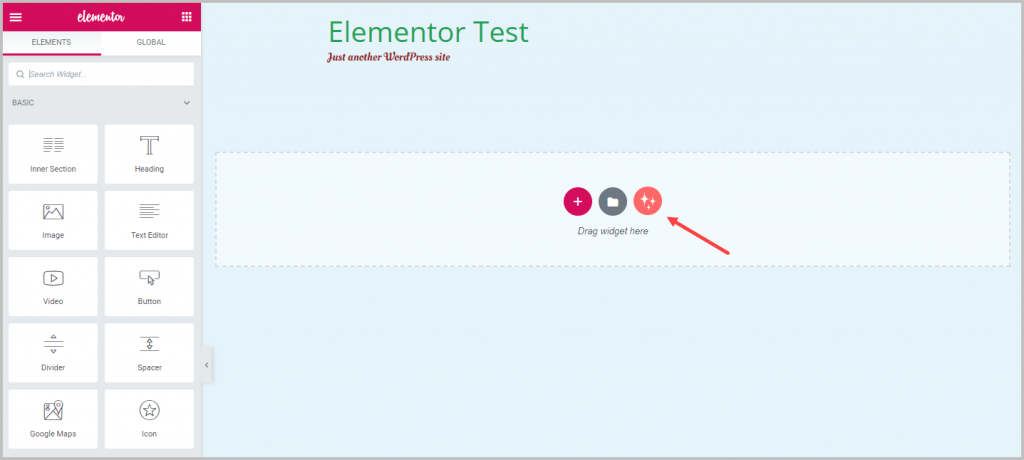 Wunderwp Button To Add Templates