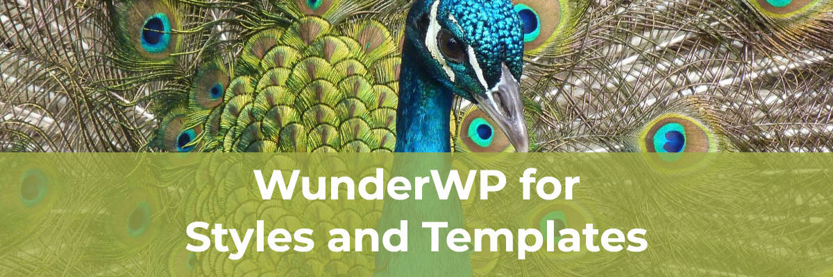 WunderWP for Styles and Templates