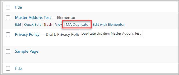 Ma Duplicator Feature