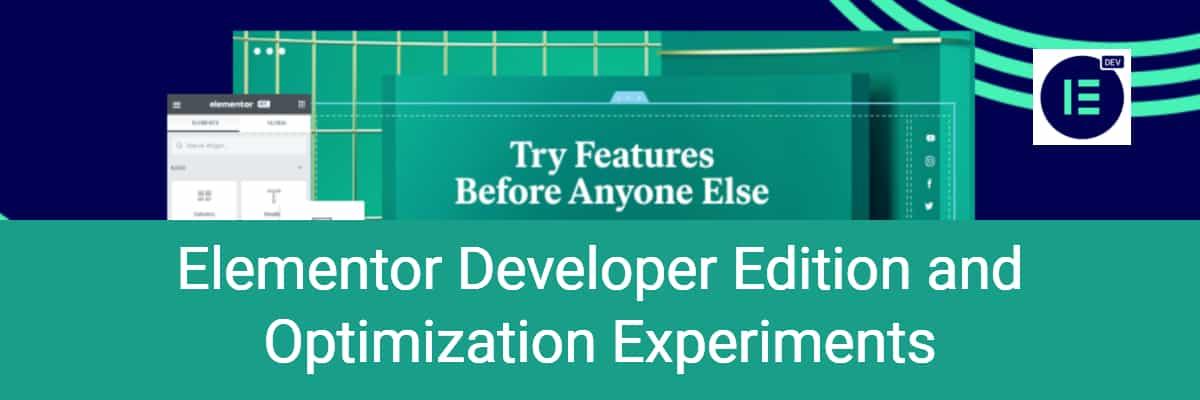 elementor developer edition