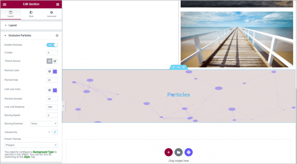 particles example