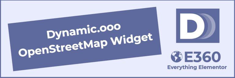 dynamic.ooo openstreetmap widget